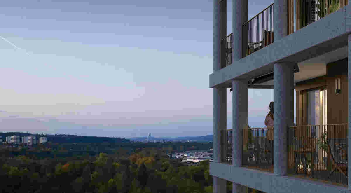 9081 Stöcklin Areal Reinach A5 Turm F1 1