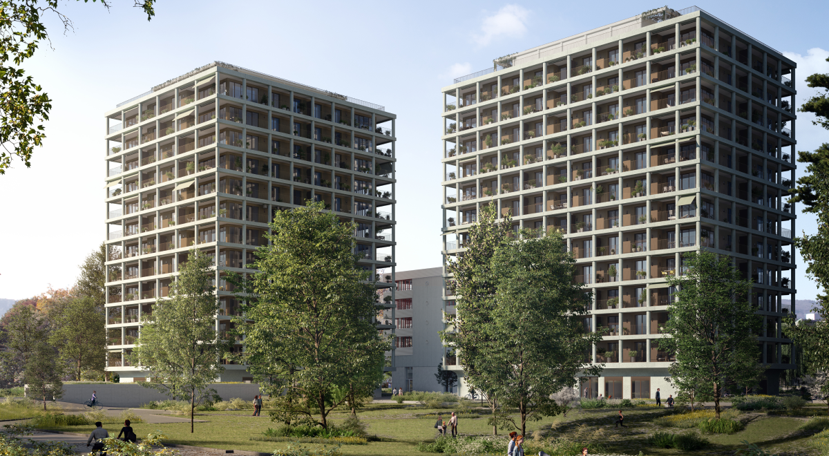 Aesch Max Towers