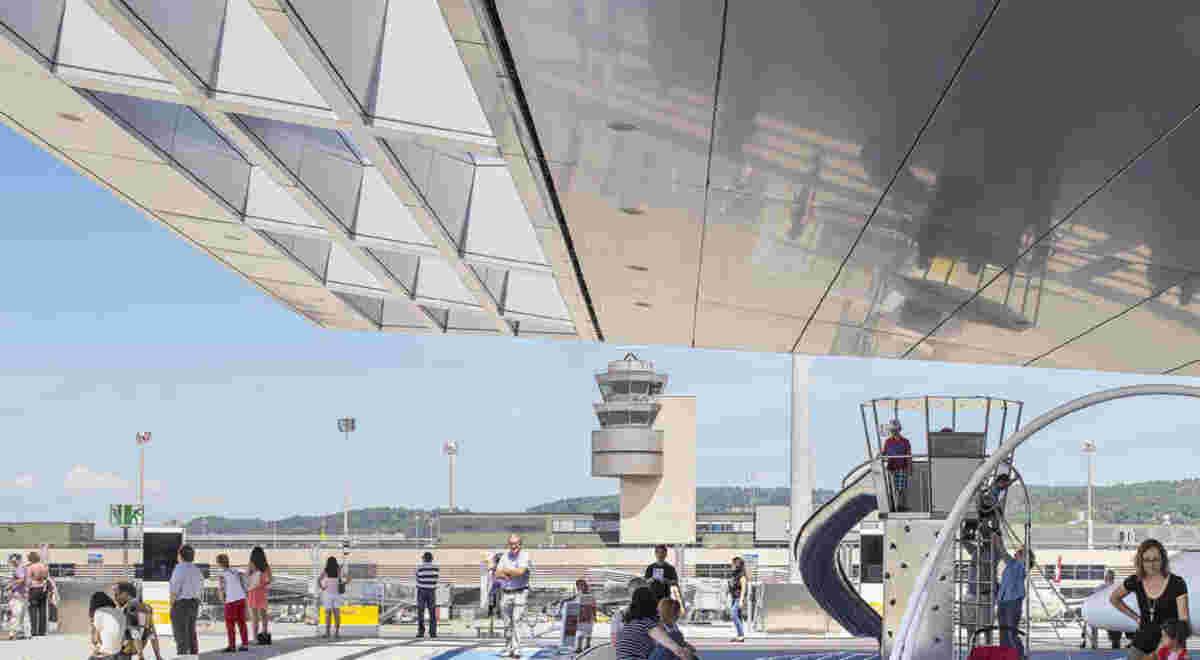 Flughafen Zürich Dock B 4