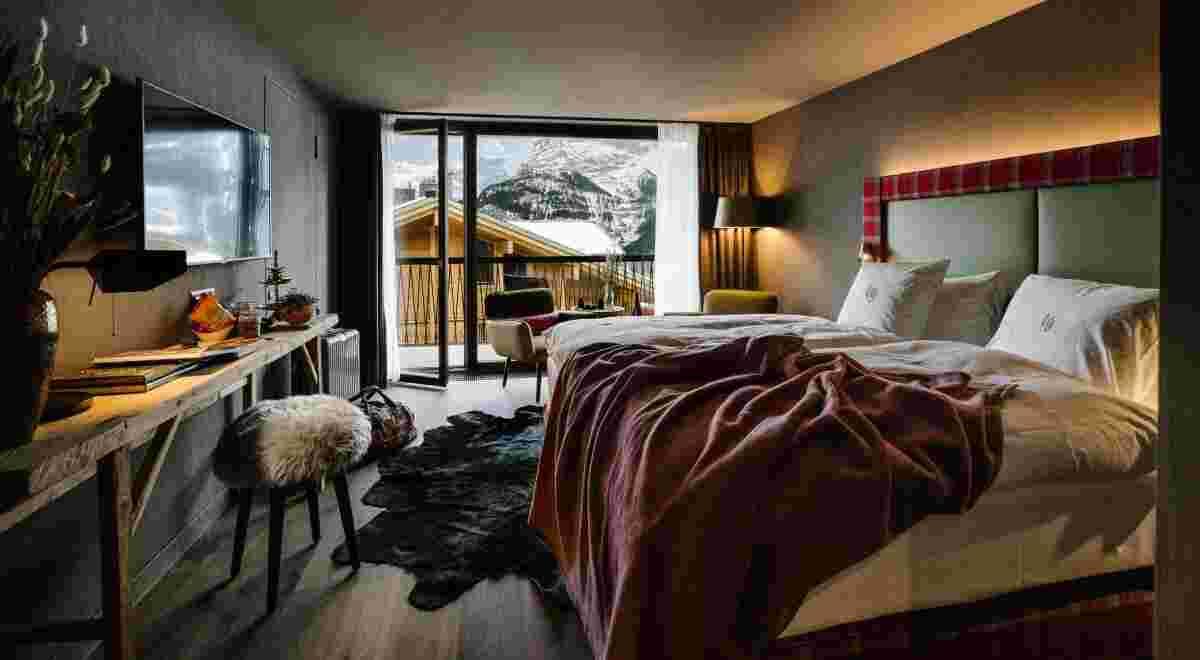 Grindelwald Bergwelt Hotel Luxury Room