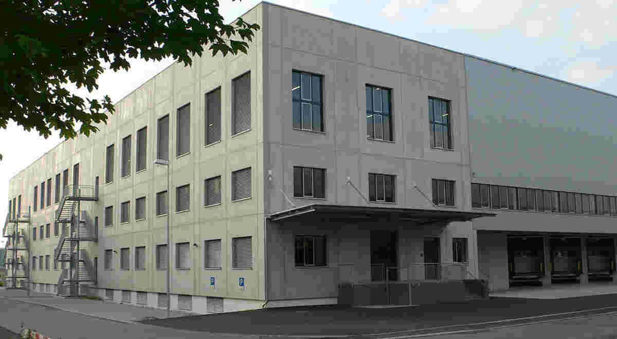 HRS Projekt Logistikgebäude ALSO 1