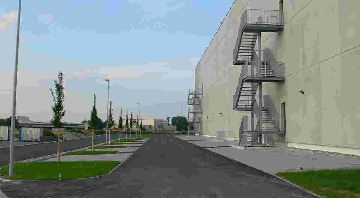 HRS Projekt Logistikgebäude ALSO 2