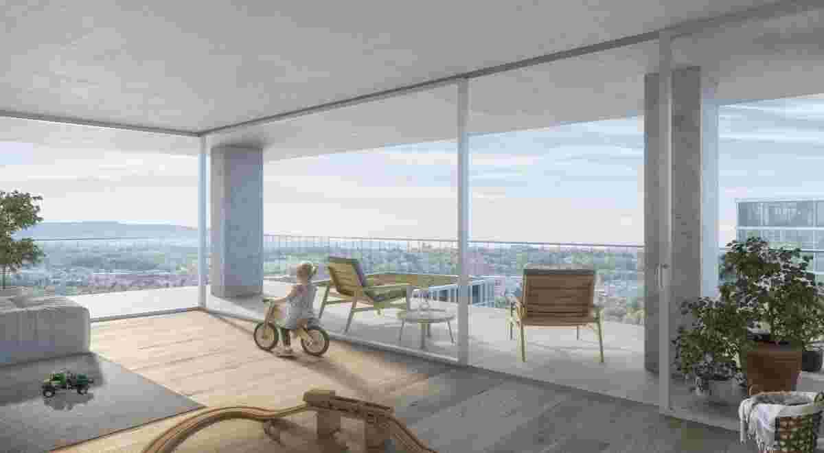 Projekt Hagnau Muttenz Wohnung 180507