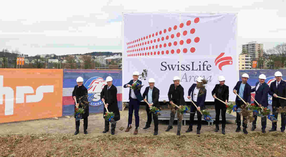 Zurich Swisslifearena Spatenstich Foto1