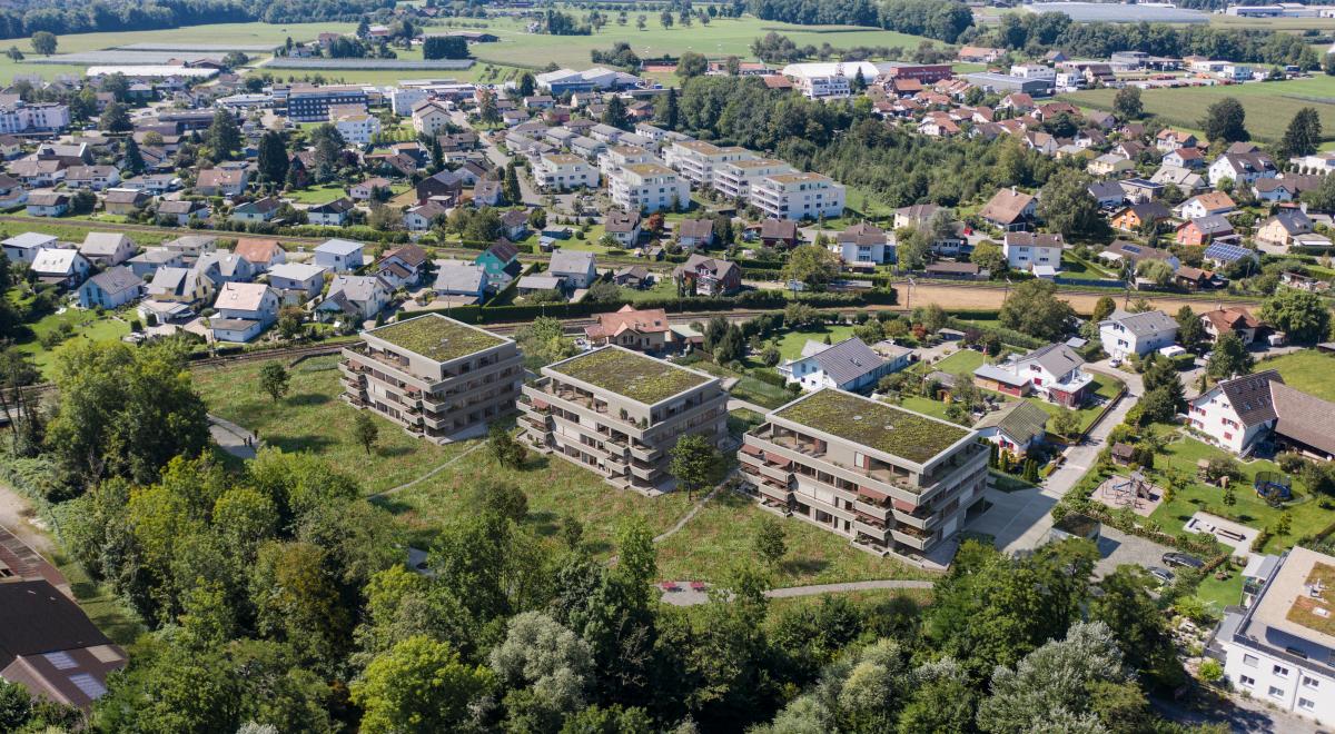 8568 Wohnüberbauung Aachweg Egnach Phase 2 A2 F3