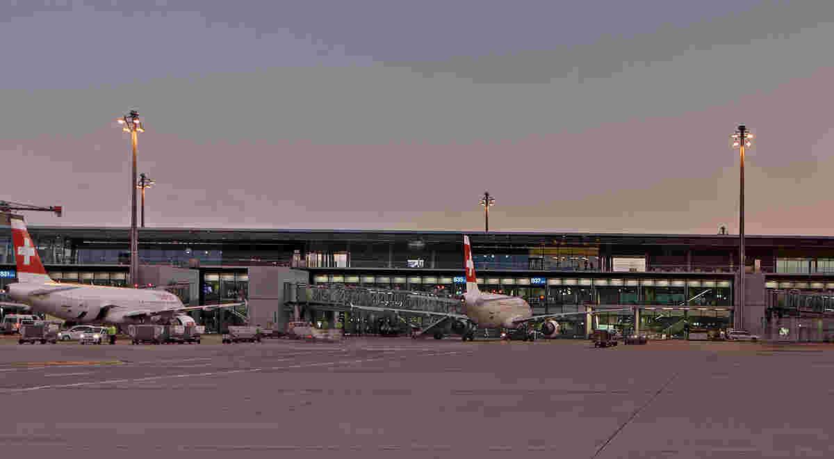 Flughafen Zürich Dock B 1