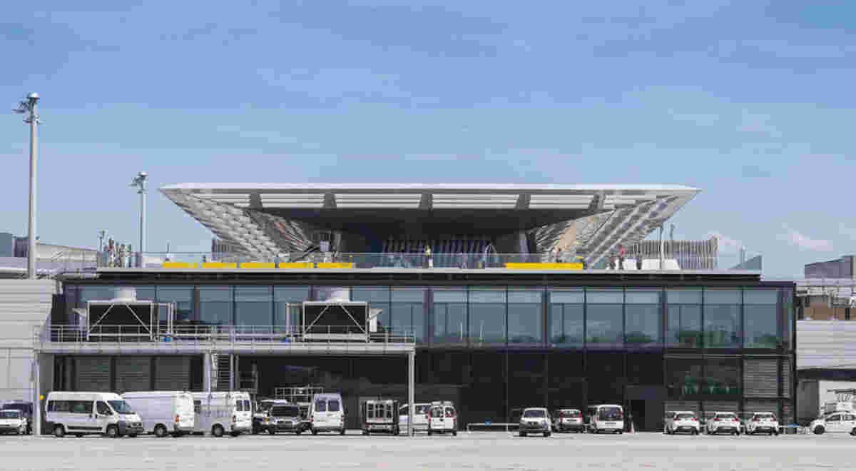 Flughafen Zürich Dock B 2