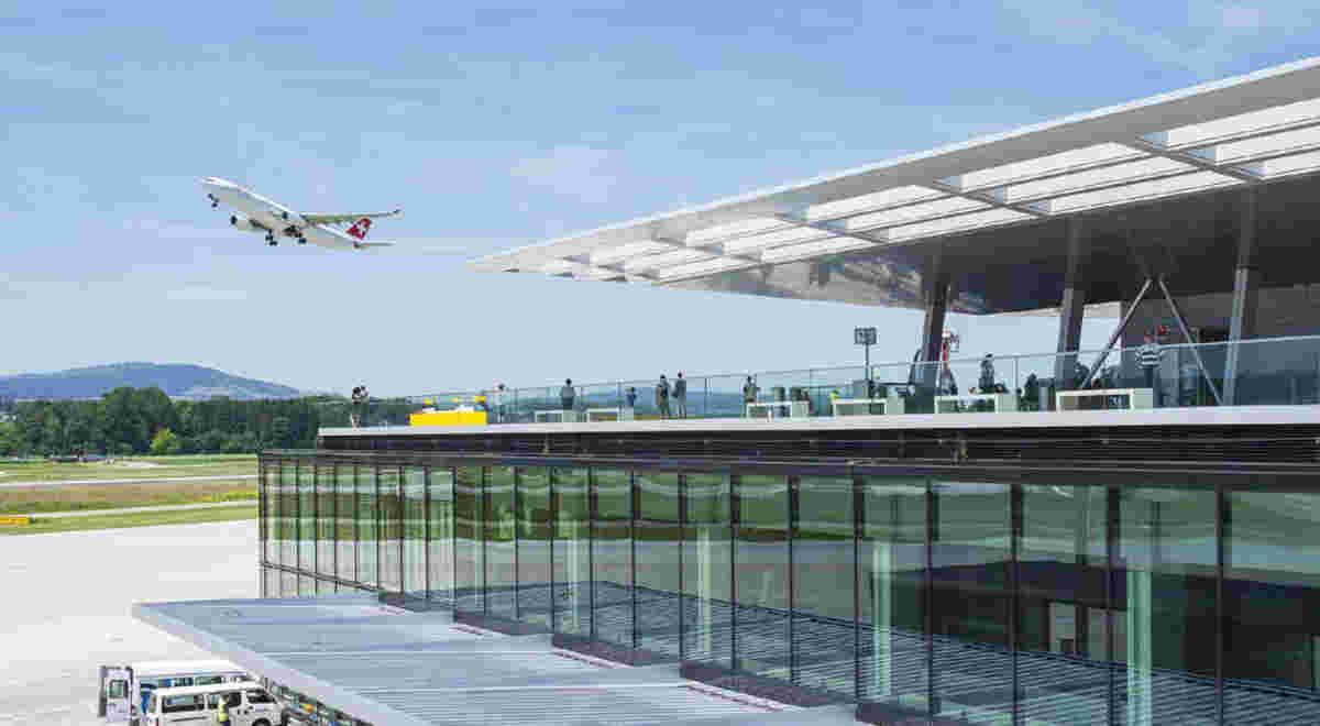 Flughafen Zürich Dock B 5