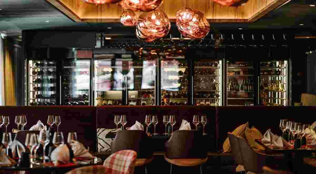 Grindelwald Bergwelt Hotel B Gs G Rill Restaurant 2