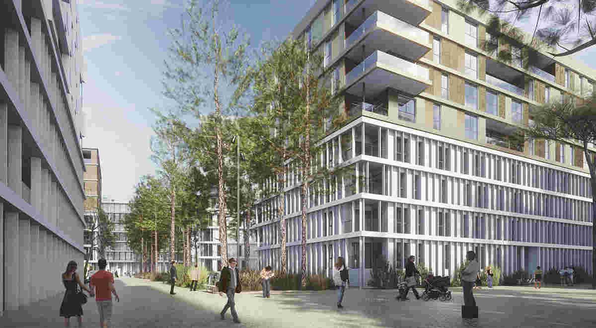 HRS Projekt Quartier de l Étange 1200 660