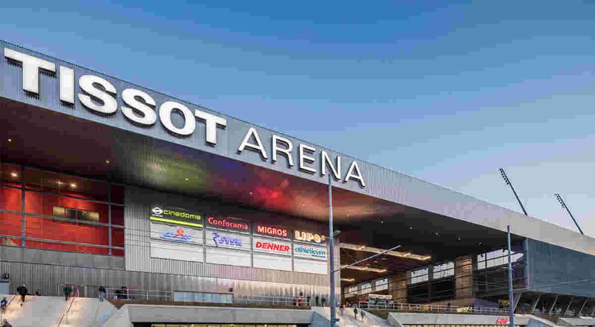 Webbild Tissot Arena 5