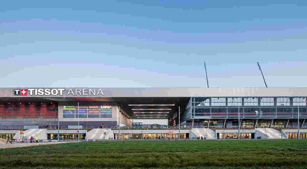 Webbilder Tissot Arena 4