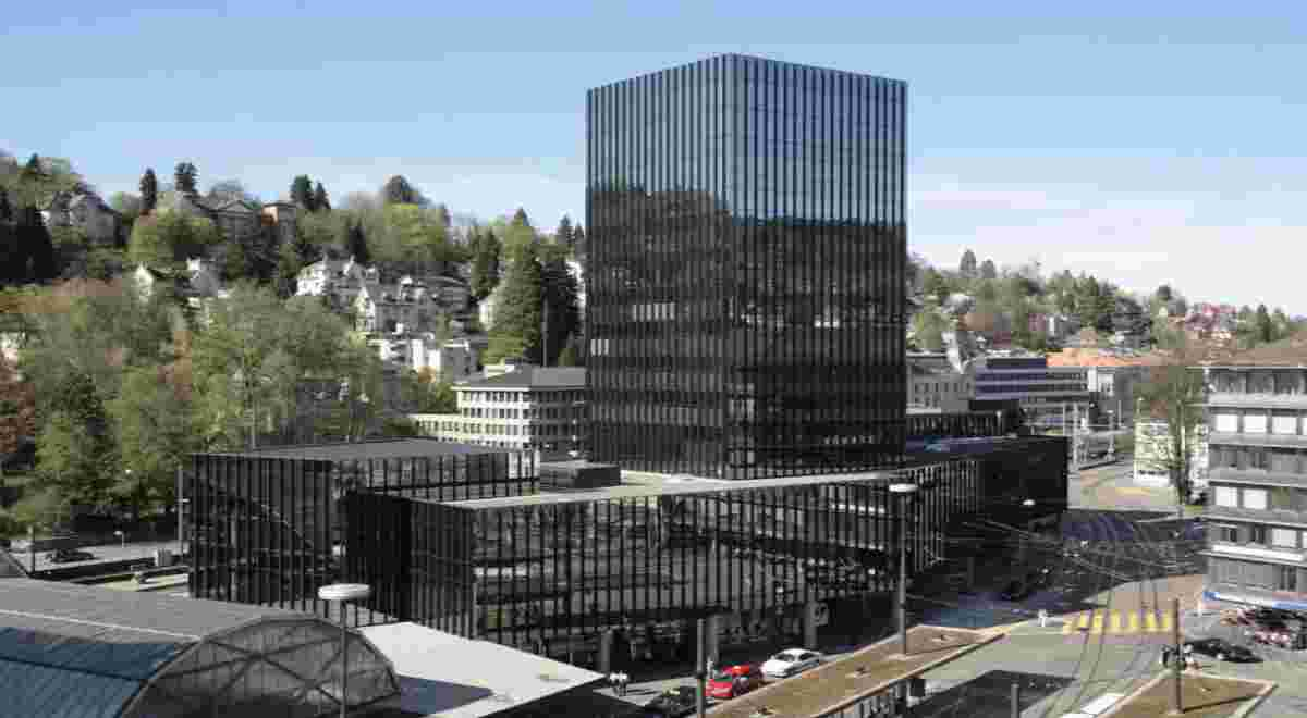 St Gallen Rathaus