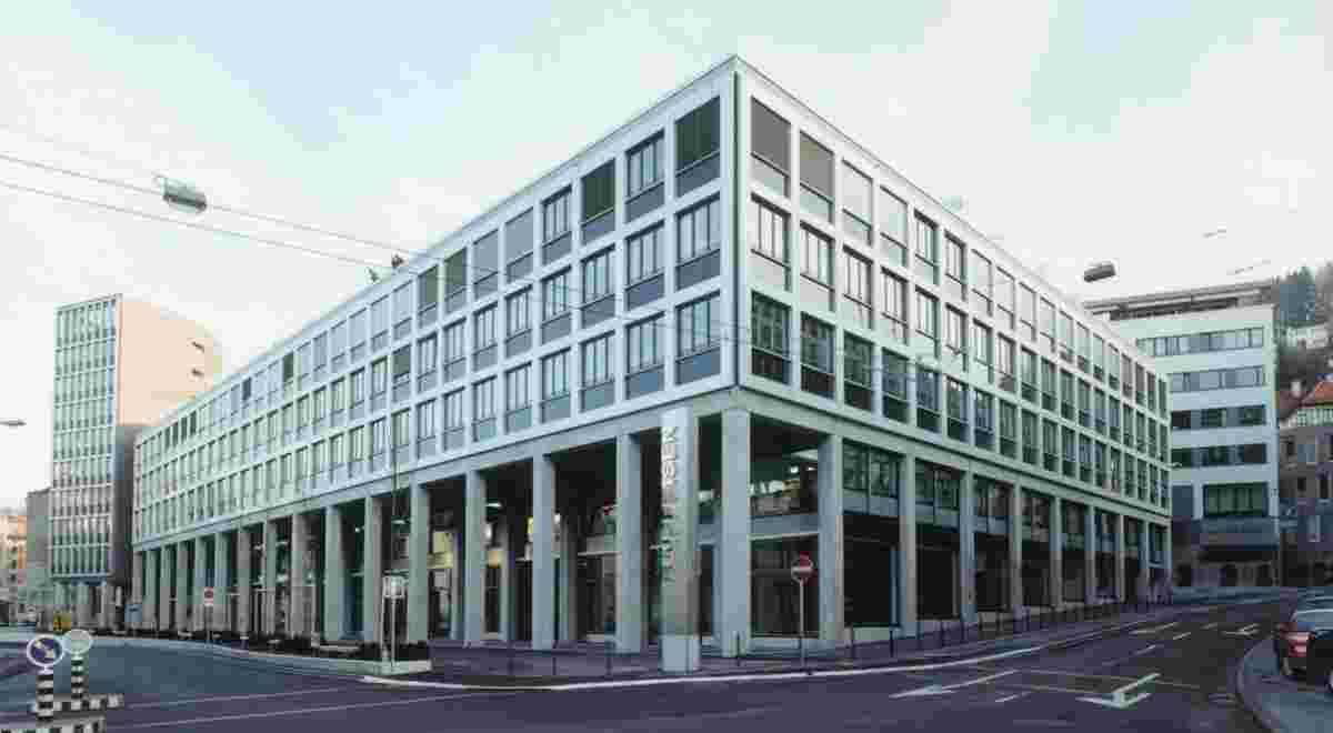 St Gallen Raiffeisenzentrum