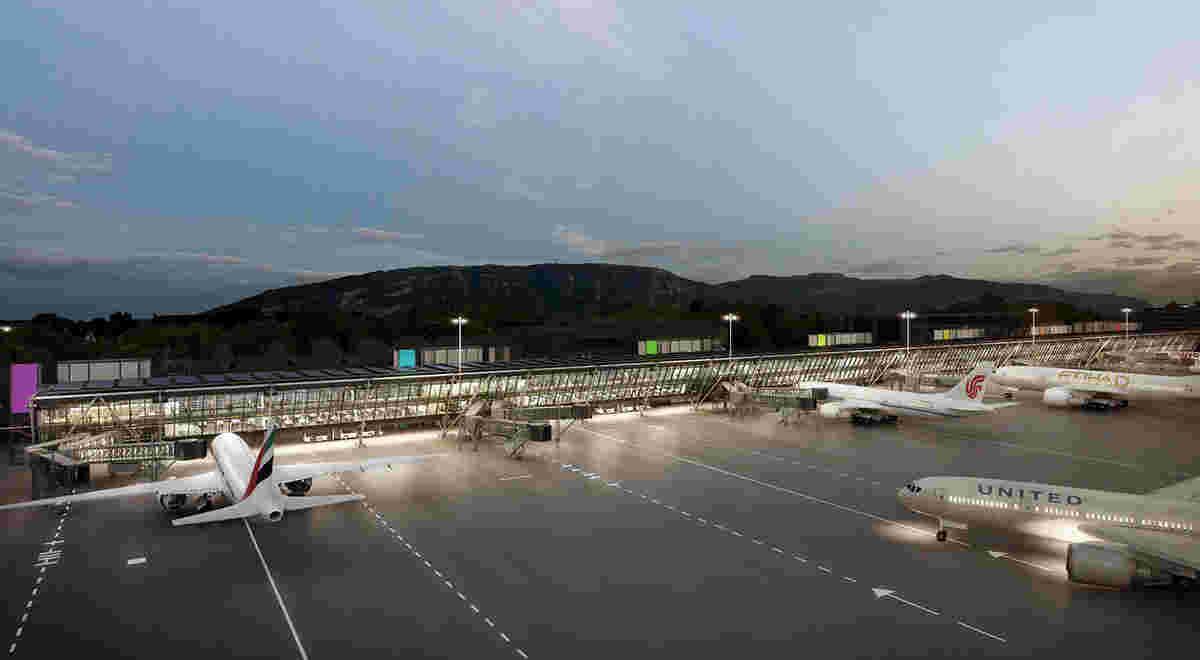 HRS Projekt Genf Flughafen