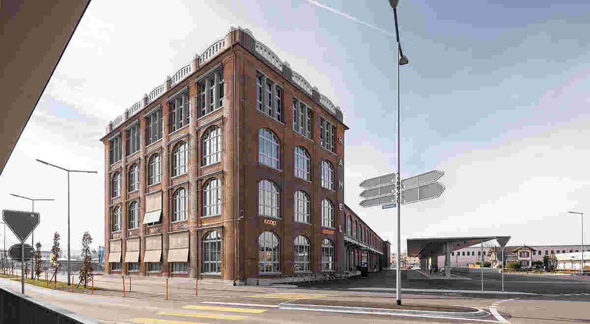 HRS Projekt Hamel Gebäude