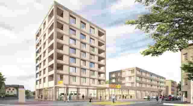 Visualisierung St Margrethen Zentrumsüberbauung
