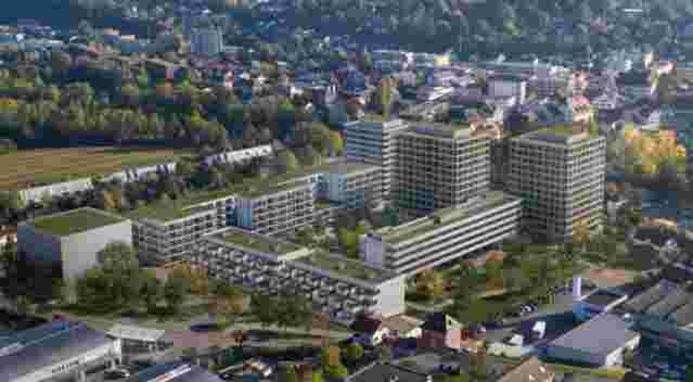 Aesch Reinach Stöcklin Luftbild Projekte