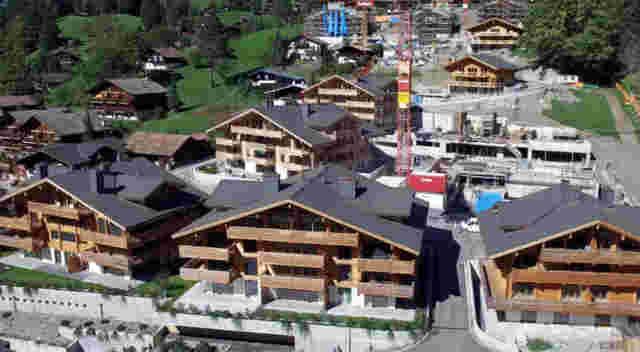 Grindelwald Bergwelt Mehrfamilienhaus