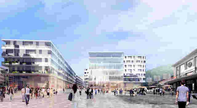 HRS Projet Cour de Gare