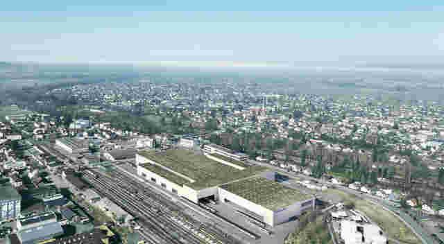 Neubau Stadler Rail